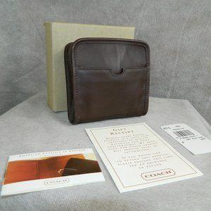 COACH VINTAGE Rare Soft Zip Case #4515